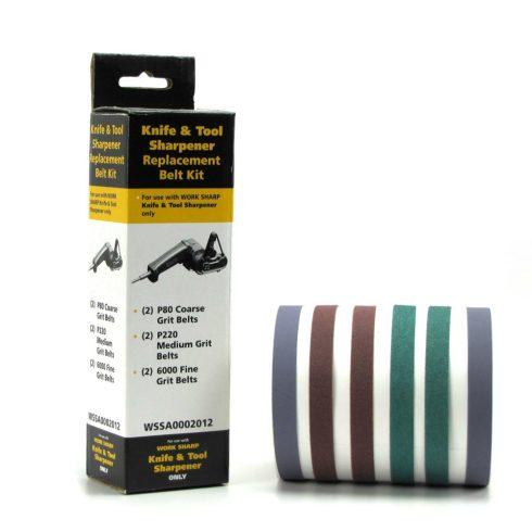 WORK SHARP Grit Belt Kit P80 / P220 / P6000 - késélező szalag