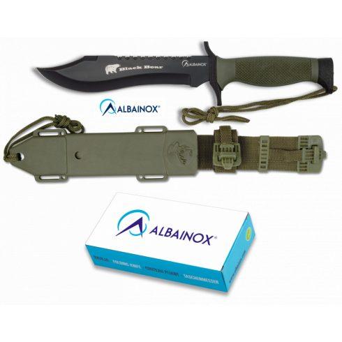 Knife ALBAINOX BLACK BEAR 18 cm