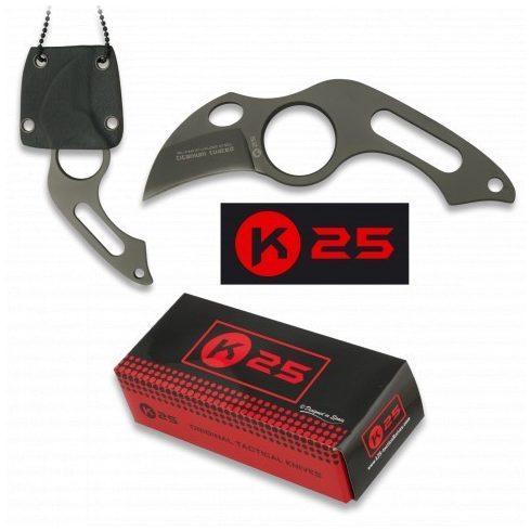 K25 31849 Taktikai kés + Kydex tok
