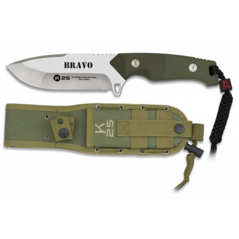 K25 BRAVO Taktikai kés 12.5 cm
