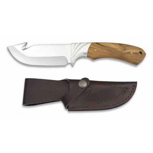 ALBAINOX Hunting knife. Olive wood vadászkés