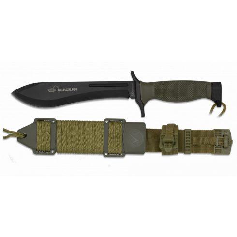 Tactical knife ALBAINOX ALACRAN black kés