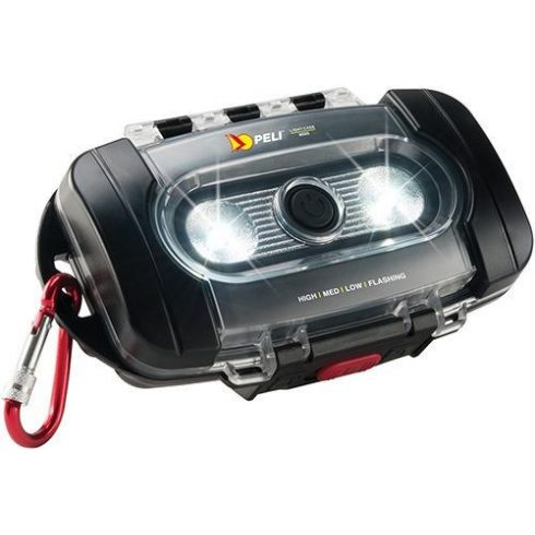 Peli 9000 LED Lámpa Case fekete