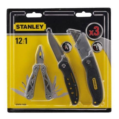 Stanley Multiszerszám + zsebkés